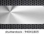 steel plating riveted to grill... | Shutterstock . vector #94041805