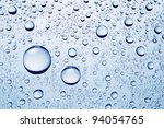 Drops Of Water Abstract Macro...