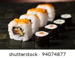 traditional japanese food  sushi | Shutterstock . vector #94074877