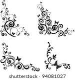 Butterfly Border Vector Art Graphics Freevectorcom