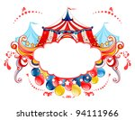 circus tent frame   Shutterstock .eps vector #94111966