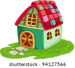 illustration of isolated... | Shutterstock . vector #94127566