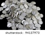 antique coins are made of... | Shutterstock . vector #94137973