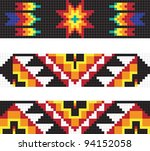 traditional native american...   Shutterstock .eps vector #94152058