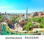 barcelona  spain   july 25  the ... | Shutterstock . vector #94153549