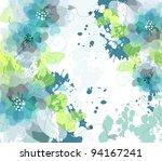 artistic flower background | Shutterstock .eps vector #94167241