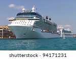 cruises from istanbul port   Shutterstock . vector #94171231
