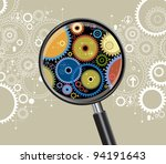 the concept of expertise of the ... | Shutterstock .eps vector #94191643