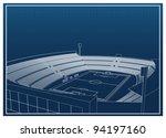 football   soccer stadium 3d... | Shutterstock .eps vector #94197160