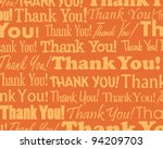 thank you    grouped collection ... | Shutterstock . vector #94209703
