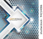 eps10 abstract futuristic... | Shutterstock .eps vector #94214086