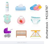 Vector Set  Baby Icons  Newbor...