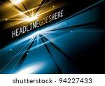 vector of abstract background | Shutterstock .eps vector #94227433