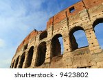 Colosseum in Rome, Italy,Europe. - stock photo