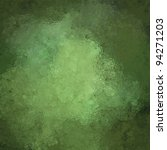 Mottled Green Background With...