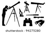 optical equipment illustration | Shutterstock .eps vector #94275280