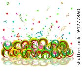 bright abstract background with ... | Shutterstock .eps vector #94277860