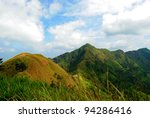 mountain and cloud in... | Shutterstock . vector #94286416