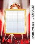 vector blank billboard and... | Shutterstock .eps vector #94297030