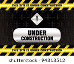 abstract under construction... | Shutterstock .eps vector #94313512