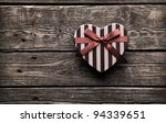 heart shaped valentines day... | Shutterstock . vector #94339651