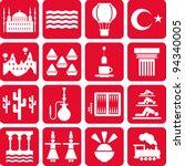 Turkey Pictograms