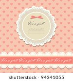 romantic scrapbooking with your ... | Shutterstock .eps vector #94341055