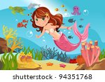 a vector illustration of a... | Shutterstock .eps vector #94351768