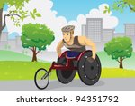 a vector illustration of an... | Shutterstock .eps vector #94351792