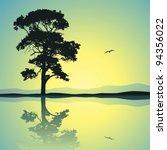 A Single Tree Standing Alone...