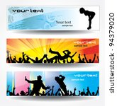 advertising banners for sports... | Shutterstock .eps vector #94379020