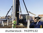 building engineer  worker... | Shutterstock . vector #94399132