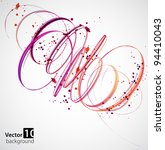 abstract background. vector | Shutterstock .eps vector #94410043