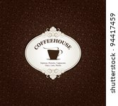 menu for restaurant  cafe  bar  ... | Shutterstock .eps vector #94417459