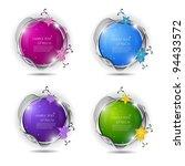 Elegant 3d Speech Bubbles With...
