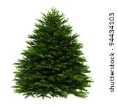 momi fir tree isolated on white ... | Shutterstock . vector #94434103