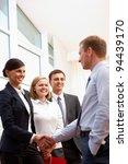 image of business partners... | Shutterstock . vector #94439170