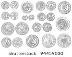Old Coins Collection  500 1700...