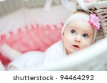 beautiful 5 month old  baby girl | Shutterstock . vector #94464292