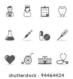 web icons   medical | Shutterstock .eps vector #94464424
