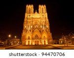 Famous Notre Dame De Reims At...