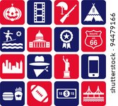 us pictograms | Shutterstock .eps vector #94479166