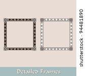frames | Shutterstock .eps vector #94481890