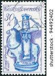 czechoslovakia   circa 1978  a... | Shutterstock . vector #94492402