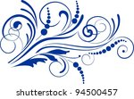 decorative branch   element for ... | Shutterstock .eps vector #94500457