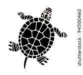abstract turtle | Shutterstock .eps vector #94500460