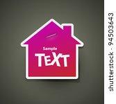 vector sticker | Shutterstock .eps vector #94503643