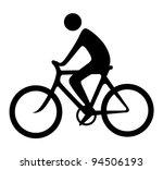 Bicyclist Symbol