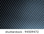 blue grid background - stock photo
