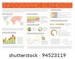 big vector set of infographic... | Shutterstock .eps vector #94523119